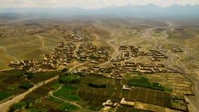 L'Afghanistan dall'aria Fotografia Stock