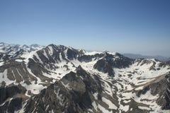 L'Afghanistan par avion photos stock