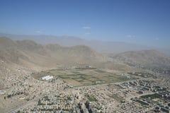 L'Afghanistan par avion photo stock