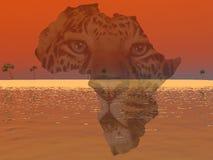 L'Africa Immagine Stock