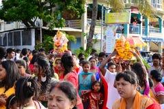 L'Africa, celebrazione di Ganesha in grande baia Fotografie Stock