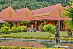 L'Africa, distilleria di Chamarel in Mauritius Island fotografia stock