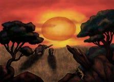 L'Africa sogna (2013) Immagini Stock Libere da Diritti