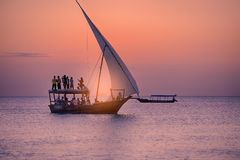 L'Africa Tanzania Fotografia Stock