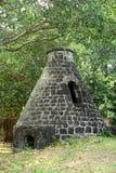 L'Africa, villaggio pittoresco di Mont Choisy in Mauritius Fotografia Stock