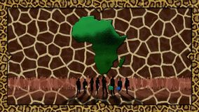 l'Afrique Photo libre de droits