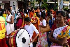 L'Afrique, célébration de Ganesha dans la grande baie Photos stock