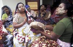 L'AFRIQUE COMORES ANJOUAN Photos stock