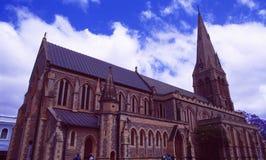 L'Afrique du Sud : L'église historique dans Grahamstown image stock
