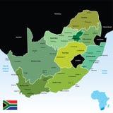 l'Afrique du Sud Image libre de droits