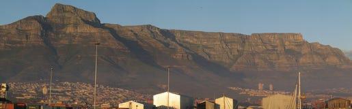 L'Afrique du Sud, Capetown, montagne de Tableau Photos stock