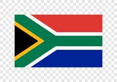 L'Afrique du Sud - drapeau national illustration de vecteur