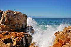 L'Afrique du Sud, itinéraire de jardin, baie de Plettenberg Image libre de droits