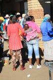 l'Afrique du Sud maman Image stock