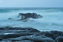 L'Afrique du Sud rentrée par paysage marin Photos stock