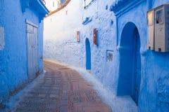 L'Afrique, Maroc, chefchaouen, les collines et la maison 2013 Photo libre de droits