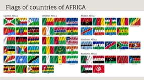 L'Afrique marque le grand ensemble Photographie stock libre de droits