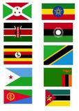 l'Afrique orientale. Image libre de droits