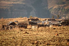 l'Afrique rurale Photo stock