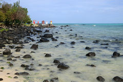 L'Afrique, secteur pittoresque de Mont Choisy en Îles Maurice Images libres de droits