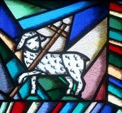L'agneau de Dieu Photographie stock
