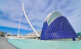 L'Agora w Walencja, Hiszpania Obraz Royalty Free