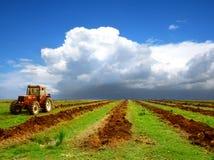 L'agricoltura ha modific il terrenoare Immagine Stock Libera da Diritti