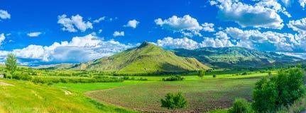 L'agricoltura nella provincia di Vayots Dzor Immagini Stock