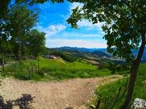 L ` agriturismo Al Monte Fotografia Royalty Free