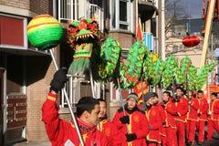 Festival cinese dell'nuovo anno Fotografie Stock Libere da Diritti