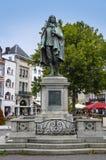 L'aia, Paesi Bassi - 18 agosto 2015: Una statua di Johan Immagine Stock Libera da Diritti
