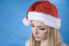 L'aide de petite Santa sexy Photo stock