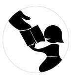 L'aide instruisent photo libre de droits