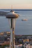 L'aiguille de l'espace, Seattle, Washington, Etats-Unis Image stock