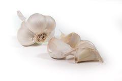 L'ail d'espèces d'allium est employé couramment pour sa saveur piquante Photographie stock libre de droits
