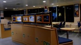 L'aileron transporte en bac l'intérieur de ferry clips vidéos