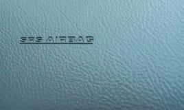 L'airbag sur la console, se ferment  Image stock