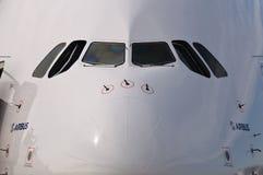 l'Airbus A380 Images libres de droits