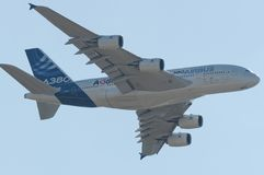 l'Airbus A380 Image stock