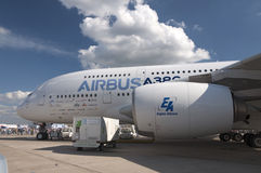 l'Airbus A380 Photographie stock