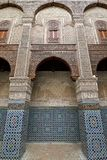 L'Al-Maroc, mosquée de Qarawiyyin à Fez Photographie stock