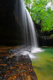 L'Alabama Forest Waterfall Landscape fotografia stock