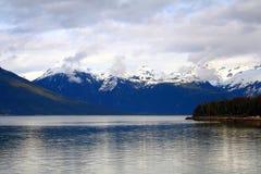 l'Alaska à l'intérieur de la canalisation Image libre de droits