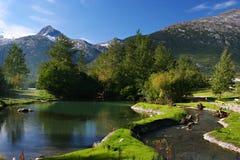 L'Alaska Fotografia Stock Libera da Diritti