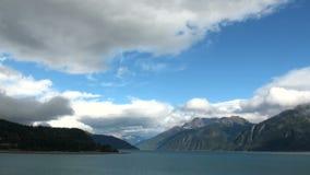 L'Alaska - appréciez la vue de Haines banque de vidéos