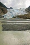L'Alaska - Davidson Glacier Immagine Stock