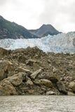 L'Alaska - Davidson Glacier Photo stock