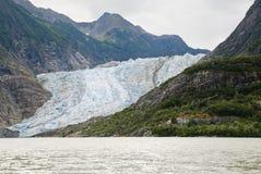 L'Alaska - Davidson Glacier - paesaggio Fotografia Stock Libera da Diritti