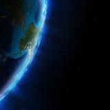 L'Alaska de l'espace Photographie stock libre de droits