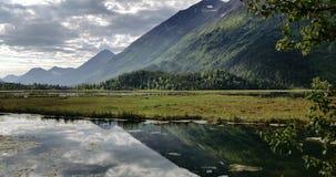 L'Alaska di riflessione Fotografia Stock Libera da Diritti